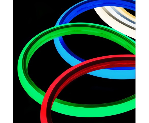 5m Neon LED Strip Light - Top Bend LED Tape Light - 24V - IP65