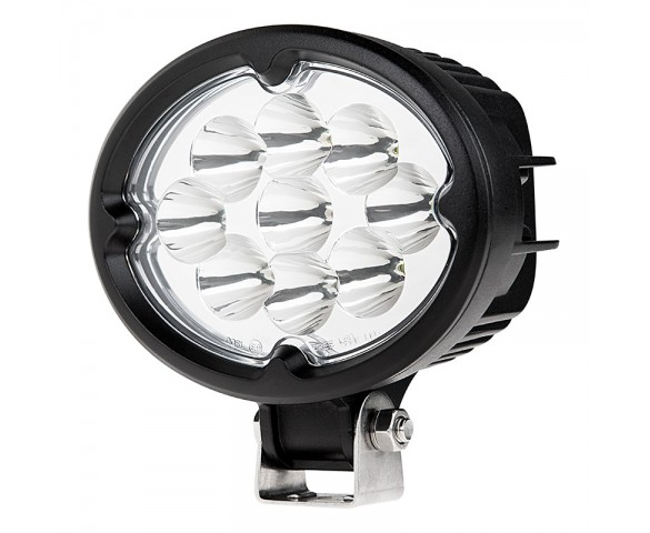"5.75"" Oval 27W Heavy Duty High Powered LED Work Light"