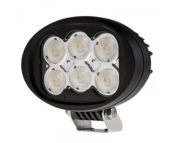 Oval 45W Heavy Duty High Powered LED Work Light