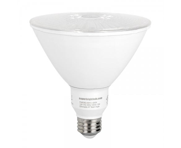 PAR38LED Bulb - 100 Watt Equivalent - Dimmable LED Bulb - 1000 Lumens