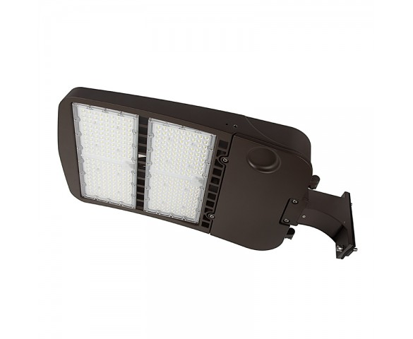 300W LED Parking Lot/Shoebox Area Light - 277-480 VAC - 40,700 Lumens - 1000W MH Equivalent - 5000K - Pole/pole Fixed Mount