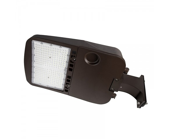 200W LED Parking Lot/Shoebox Area Light - 26,900 Lumens - 750W MH Equivalent - 5000K - Pole/Post Fixed Mount