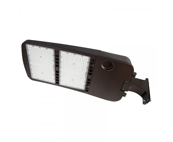 480W LED Parking Lot/Shoebox Area Light - 277-480 VAC - 67,000 Lumens - 2000W MH Equivalent - 5000K - Pole/pole Fixed Mount
