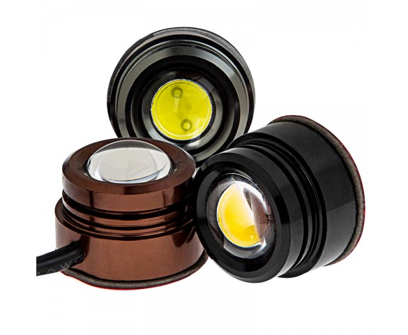 PLM series Wired 1.5 Watt LED: Available In Bronze, Black, & Titanium Finish