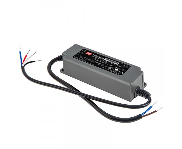 Mean Well LED Power Supply - PWM Series 60~120W - 12V Dimmable: 40 Watt