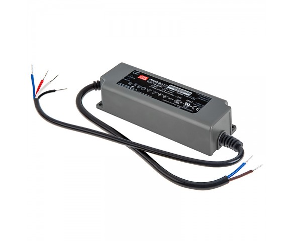 Mean Well LED Switching Power Supply - PWM Series 40-120W LED Power Supply  - 12V Dimmable
