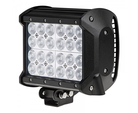 "6.5"" Quad Row Heavy Duty Off Road LED Flood Light Bar - 72W"