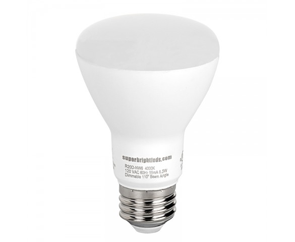 R20 LED Bulb - 60 Watt Equivalent - Dimmable LED Flood Light Bulb - 600 Lumens
