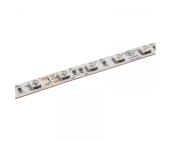 5m Single Color LED Strip Light - Radiant™ Series LED Tape Light - 12V/24V - IP20