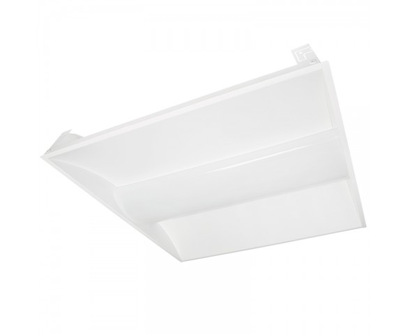 Recessed LED Troffer Light Retrofit w/ Center Basket - 2ft x 2ft