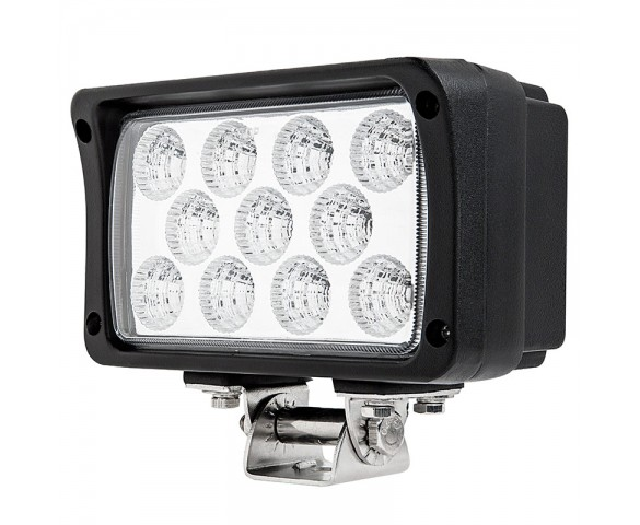 "6"" Rectangular 33W Heavy Duty High Powered LED Work Light"