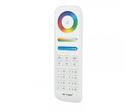 MiLight LED RGB+Tunable White RF Remote - Color-Changing/Tunable White