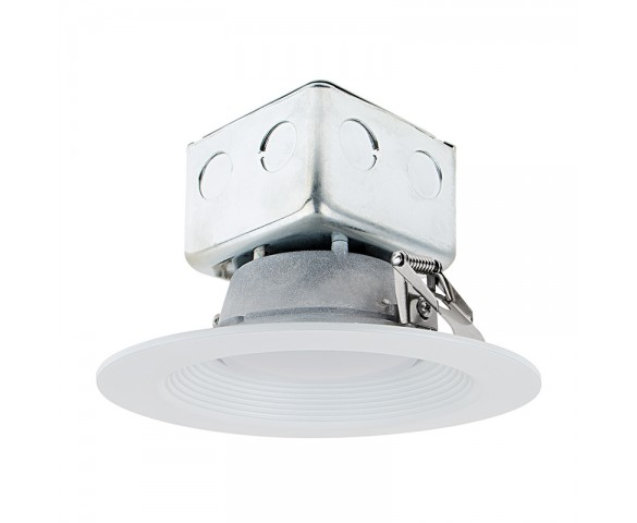 "Replacement LED Downlights for 6"" Fixtures - 65 Watt Equivalent LED Can Light Replacement - Integral Junction Box - 650 Lumens"