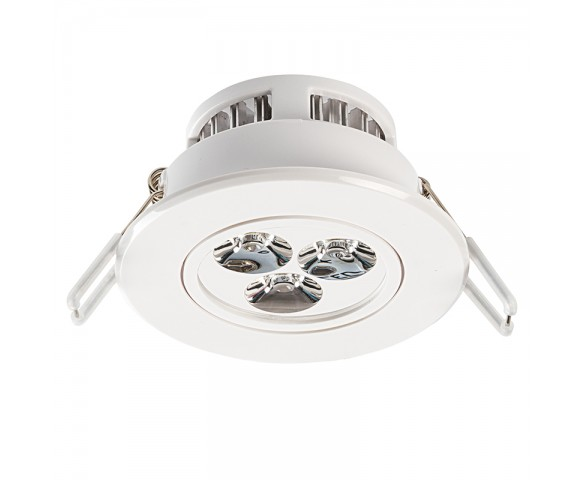 "LED Recessed Light Fixture - Aimable - 40 Watt Equivalent - 3.5"" - 290 Lumens"