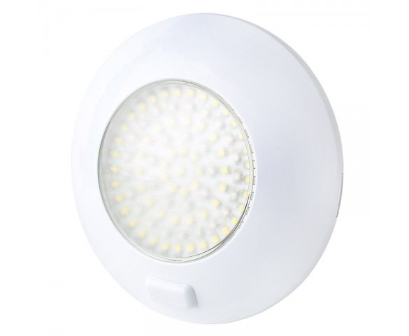 "5.6"" Round Dome Light LED Fixture with 3 Position Switch"