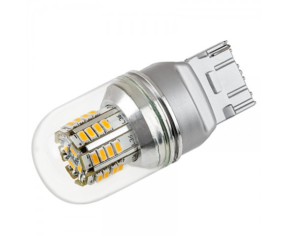 7440 LED Bulb w/ Stock Cover - 36 SMD LED Tower - Wedge Retrofit