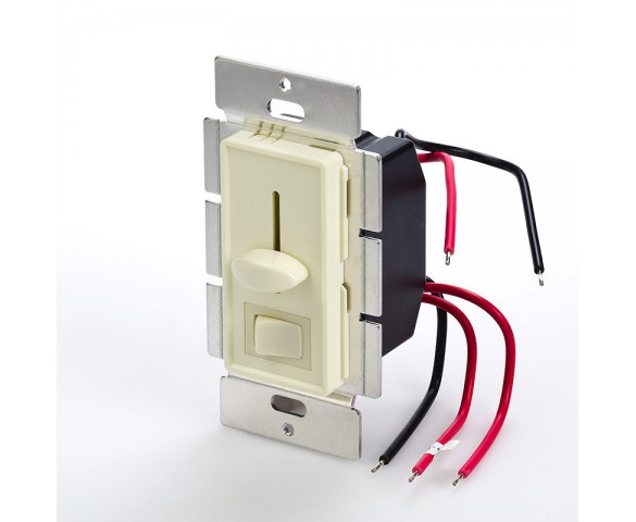 best service 4f3d5 e0164 SLVDx-60W-3W LED 3-Way Switch and Dimmer for Standard Wall Switch Box