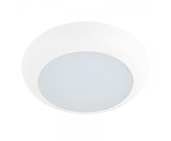 "7"" Flush Mount LED Ceiling Light - Dimmable LED Disk Light - 110 Watt Equivalent - 1,100 Lumens"