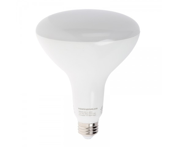 BR40 LED Bulb - 75 Watt Equivalent - Dimmable LED Flood Light Bulb - 1,300 Lumens