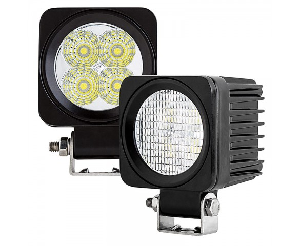 "2.5"" Square 12 Watt LED Mini Auxiliary Work Light"