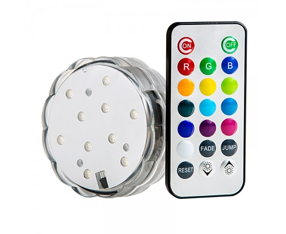 Submersible LED Accent Light w/ Infrared Remote