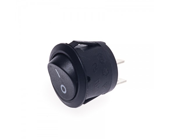 SPST Round Rocker Switch