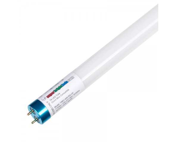 15W T8 LED Tube - 1,730 Lumens - 4ft - Dual End Ballast Bypass Type B - 32W Equivalent - 5000K/4000K