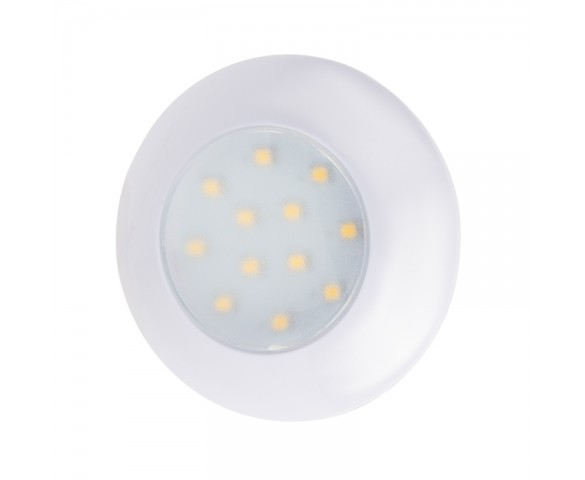 "3"" Round LED Dome Light Fixture - 250 Lumens - 4000K/3000K"