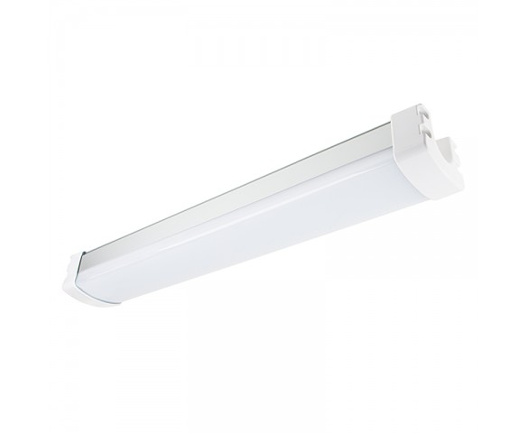 30W Linear LED Light Fixture - Industrial LED Light - 2' Long
