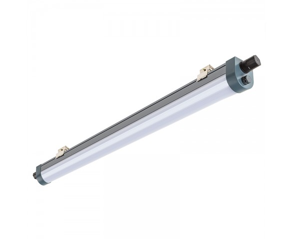 50W Linkable Linear LED Light Fixture - Industrial LED Light - 5' Long