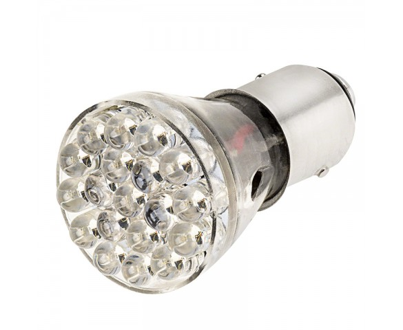 1157 LED Bulb - Dual Intensity 25 LED Motorcycle Bulb