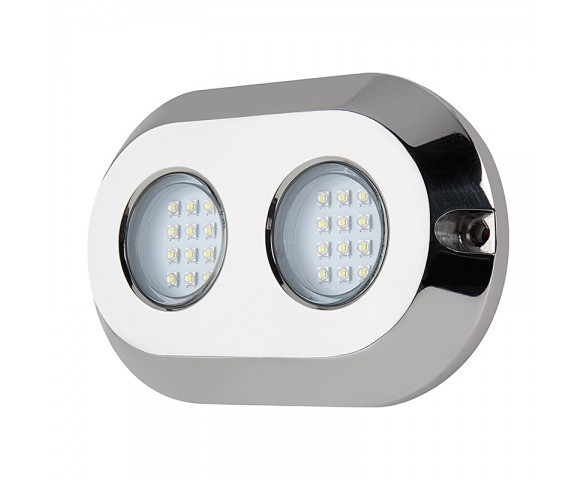 LED Pond Lights And Pool Lights - Double Lens - 120W