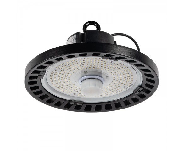 100W UFO LED High Bay Light - Programmable Motion Sensor - 15500 Lumens - 320W MH Equivalent - 5000K