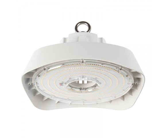 150W White UFO LED High Bay Light - 19500 Lumens - 400W MH Equivalent - 5000K