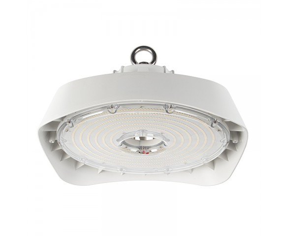 200W White UFO LED High Bay Light - 26000 Lumens - 750W MH Equivalent - 5000K