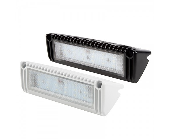 "9"" RV LED Flood Light - Porch and Utility Light - 1300 Lumen"