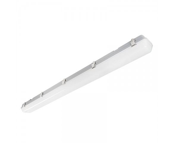 60W Vapor Tight LED Light Fixture - Optional Microwave Motion Sensor - 8,280 Lumens - 4' Long - 5000K/4000K/3000K