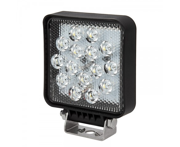 "6"" Square LED Work Light - Off-Road LED Driving Light - 15W - 1200 Lumens"
