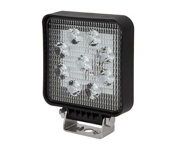 "6"" Square LED Work Light - Off-Road LED Driving Light - 9W - 800 Lumens"