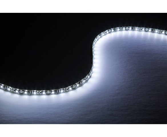 WFLS-x - Outdoor LED Light Strips - Weatherproof LED Tape Light with 18 SMDs/ft. - 1 Chip SMD LED 3528: Showing Light Output and Color