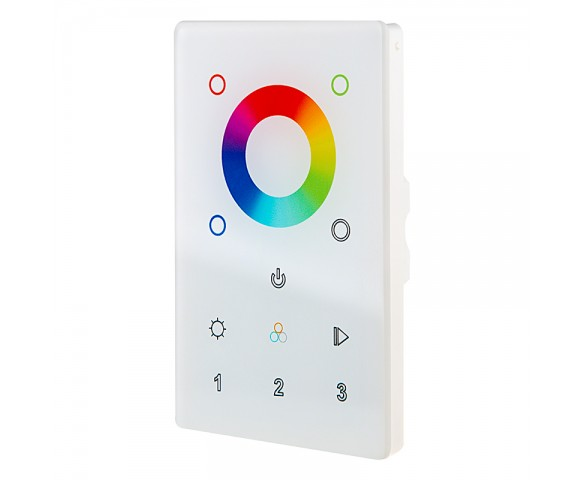 Wireless Easy Dimmer series Wireless Multi-Zone RGB+White LED Dimmer Switch for Easy Dimmer Receiver