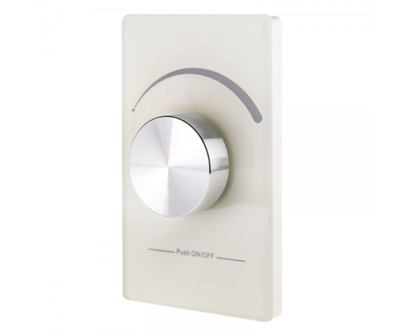 Wireless Single Color LED Dimmer Switch for EZ Dimmer Controller: 360° View.