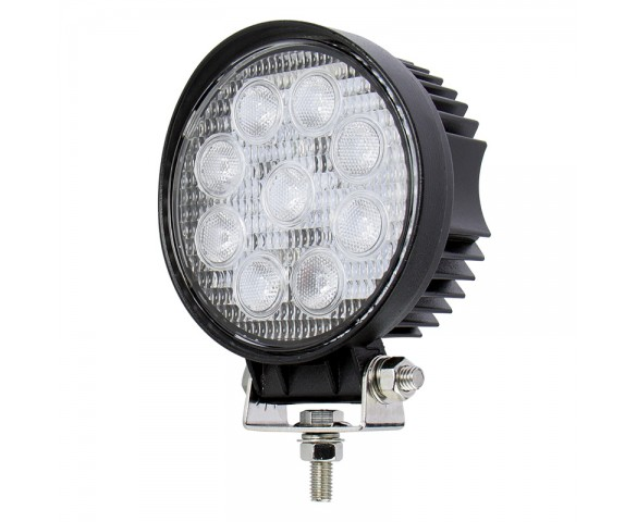 "Off-Road LED Work Light/LED Driving Light - 4"" Round - 19W - 2,030 Lumens"