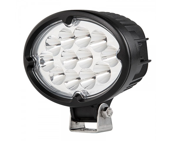"6"" Oval 36W Heavy Duty High Powered LED Work Light"