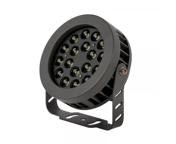 18W LED Flag Light - 12-30' pole - Landscape Spotlight