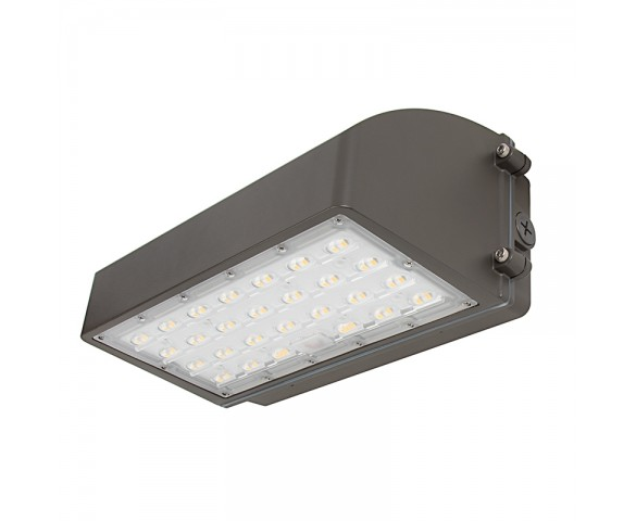 80W Full Cutoff LED Wall Pack - 9200 Lumens - 400W MH Equivalent