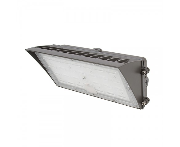 80W Semi Cutoff LED Wall Pack - 9200 Lumens - 400W MH Equivalent