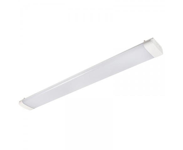 40W LED Wraparound Fixture - 4' Long - 4000 Lumens - 4000K/5000K