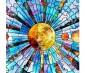 Skylens® Fluorescent Light Diffuser - Glass Planets Decorative Light Cover - 2' x 2'