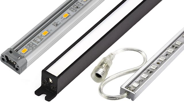 Aluminum Light Bar Fixtures
